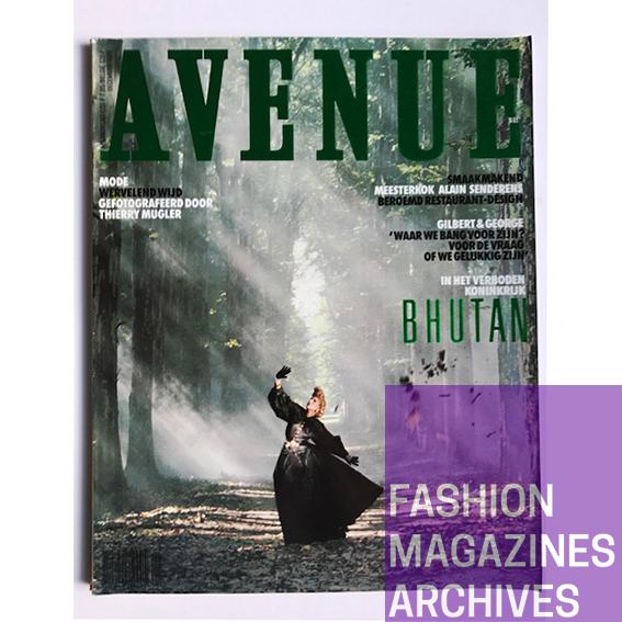 Avenue - Thierry Mugler - Chanel - Dauphine - FMA - 1986