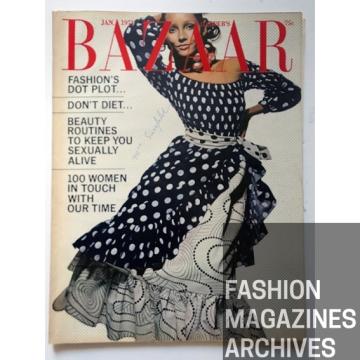Harpers Bazaar - FASHIONMAGAZINESARCHIVES - de la Renta - Hiro - 1971