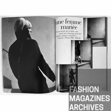 Simonetta Gianfelici, Vogue Paris, Miles Aldridge 1995