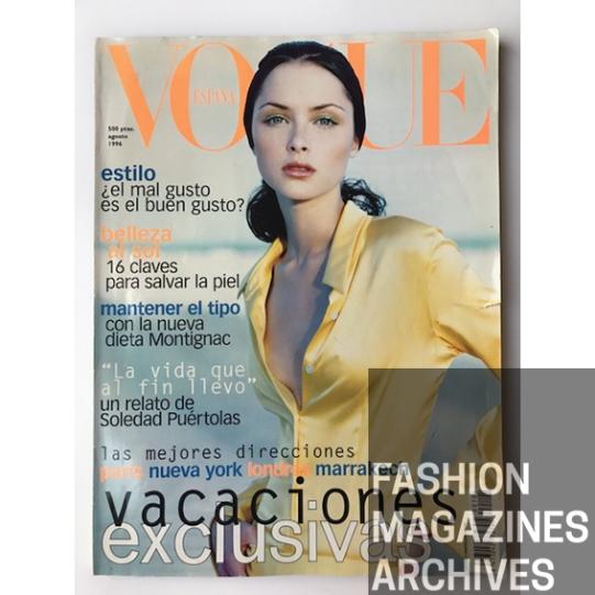 Vogue España - Kelly Klein - DKNY -Tasha Tilberg - FMA