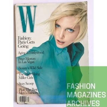 W Magazine - Nadja Auermann - FMA - 1995 - Craig McDean